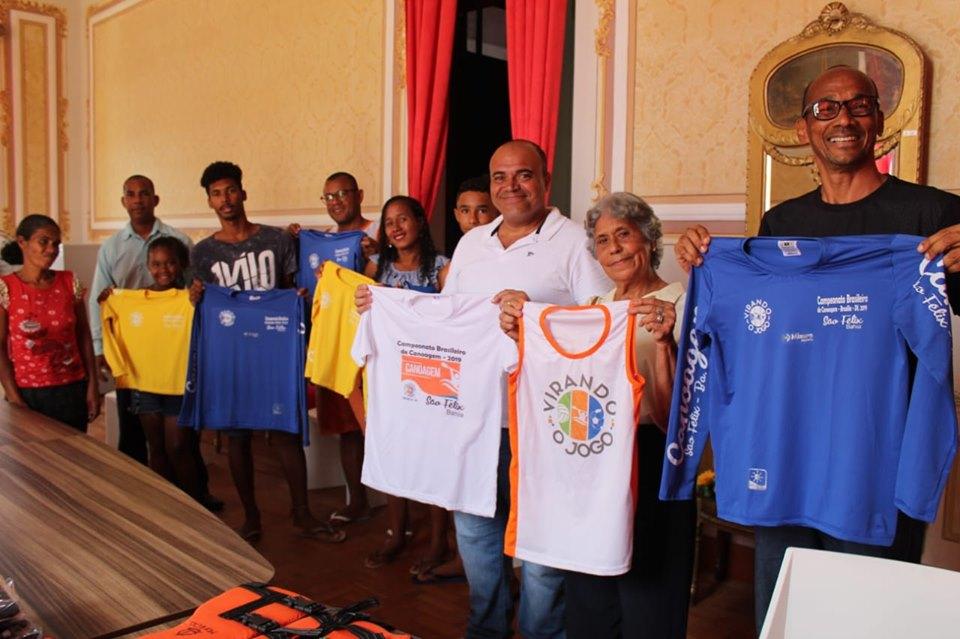 Alunos, do Projeto Virando o Jogo, participarão do Campeonato Brasileiro de Canoagem, em Brasília
